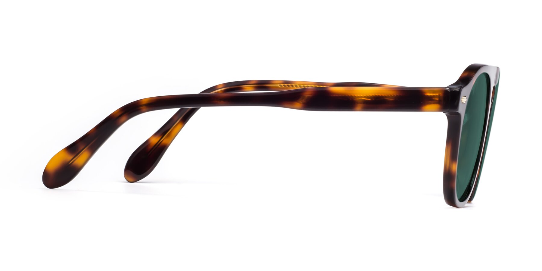 Side of Mufasa in Tortoise with Green Polarized Lenses