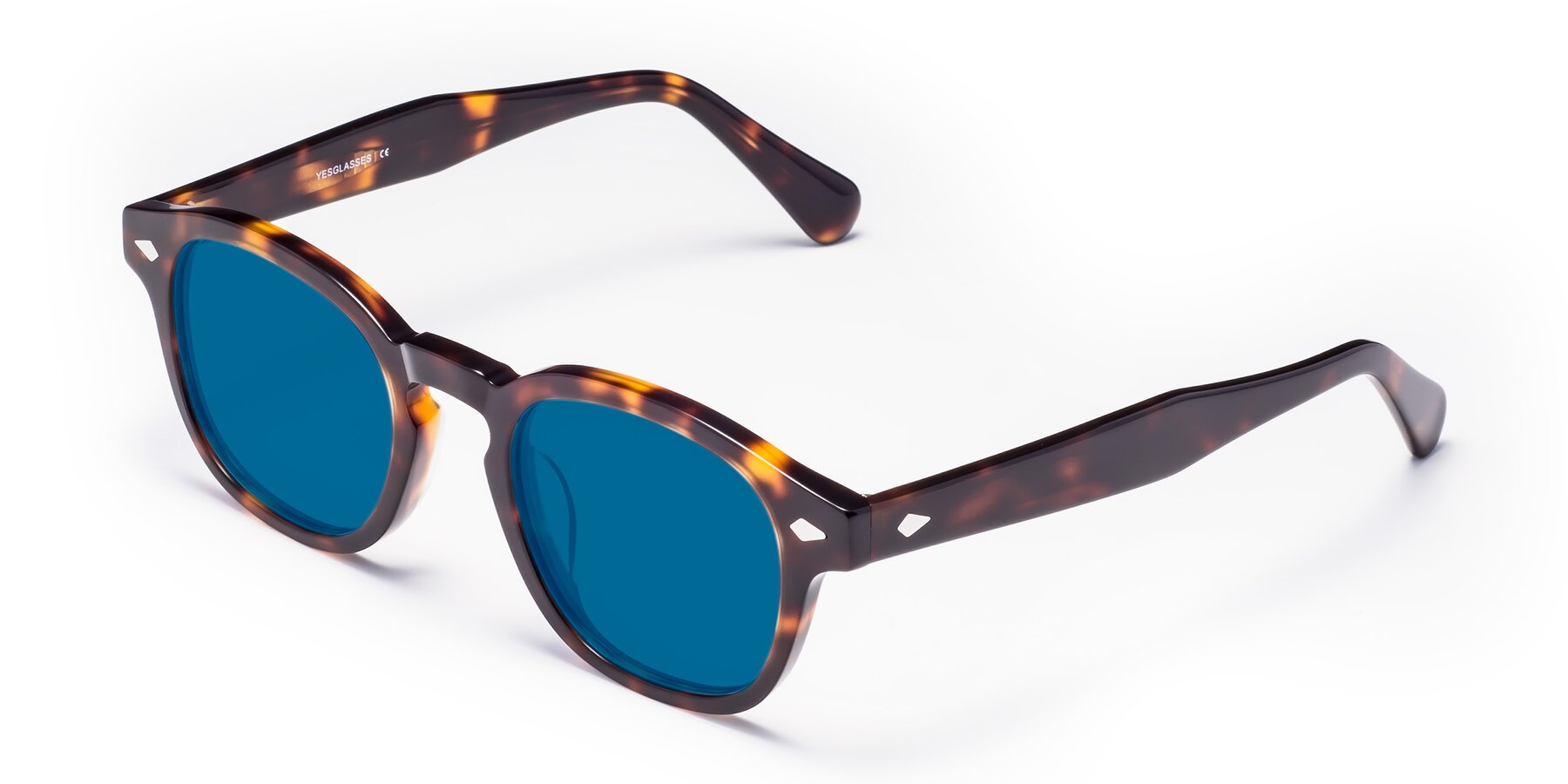 Angle of WALL-E in Tortoise with Blue Tinted Lenses
