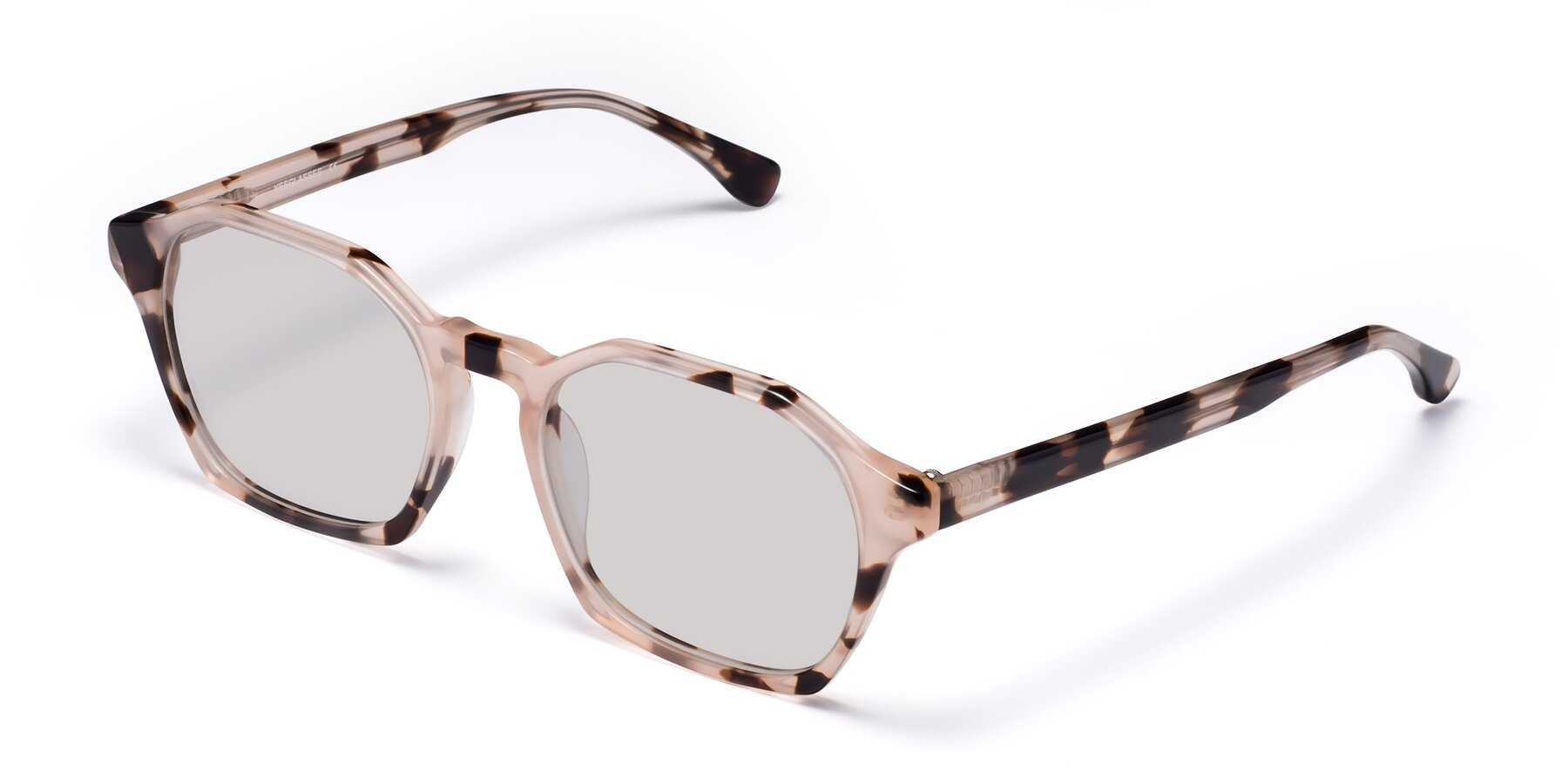 Angle of Stoltz in Leopard with Light Gray Tinted Lenses