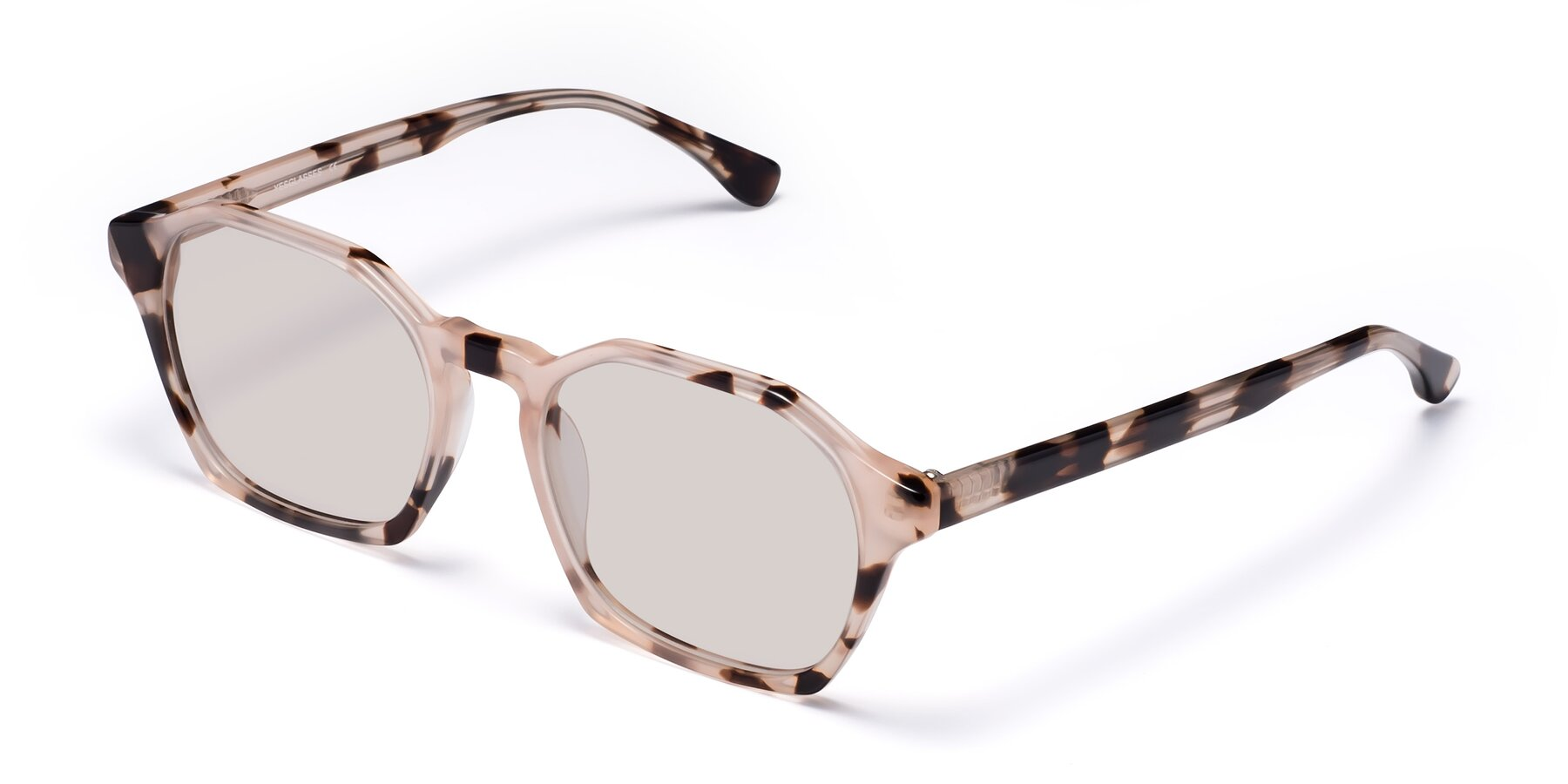 Angle of Stoltz in Leopard with Light Brown Tinted Lenses