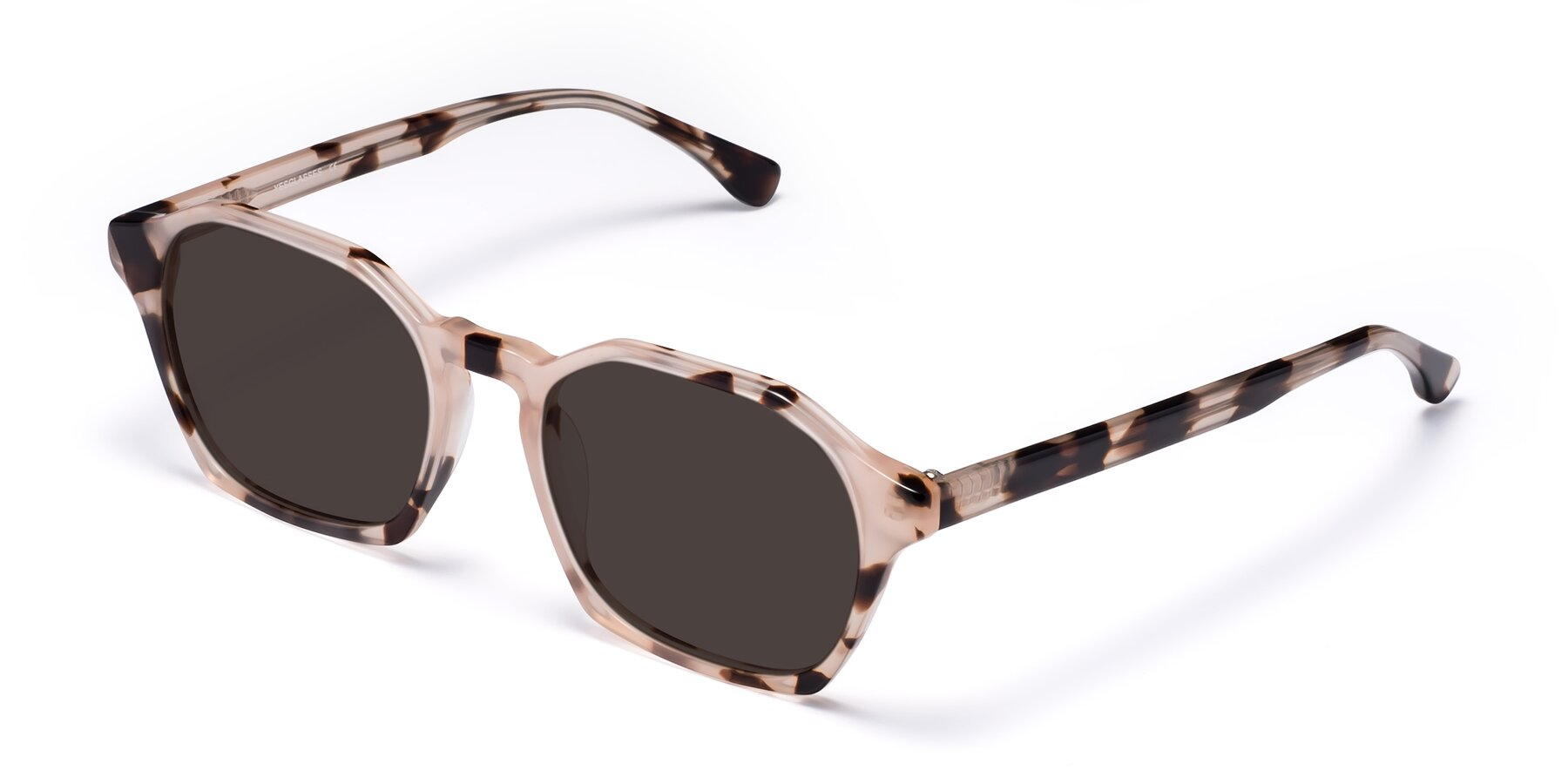 Angle of Stoltz in Leopard with Gray Tinted Lenses