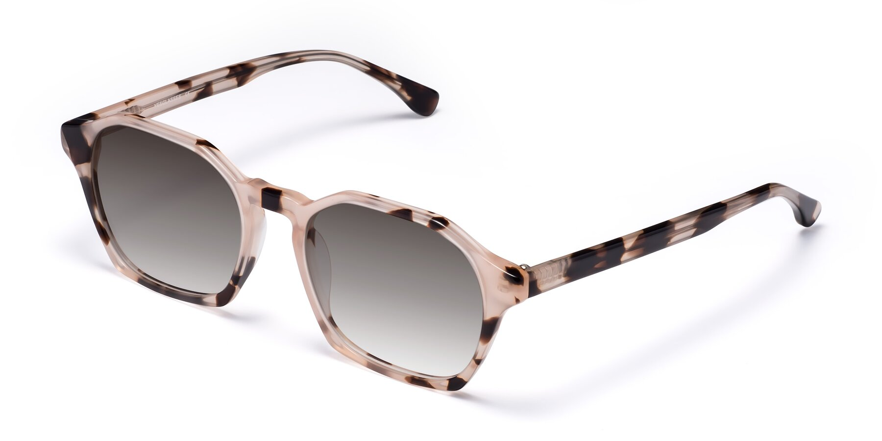 Angle of Stoltz in Leopard with Gray Gradient Lenses