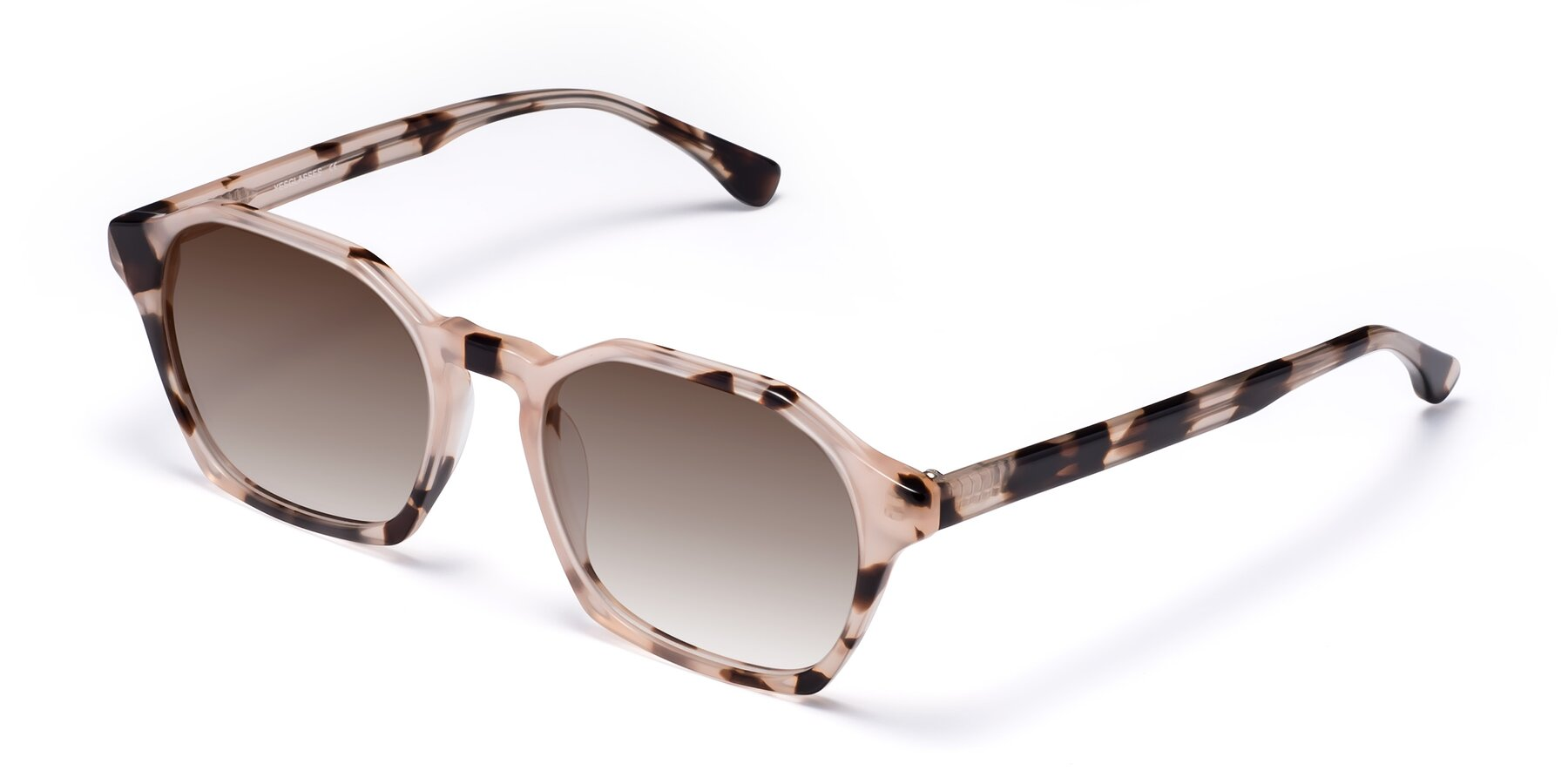 Angle of Stoltz in Leopard with Brown Gradient Lenses