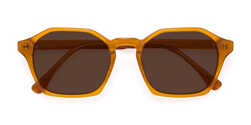 Stoltz - Brown Tinted Sunglasses