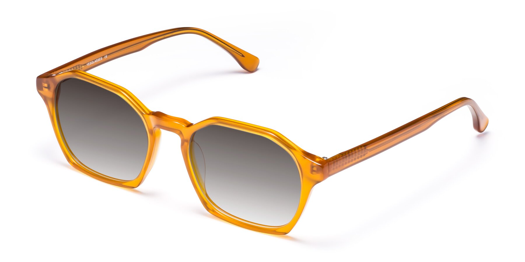 Angle of Stoltz in Brown with Gray Gradient Lenses