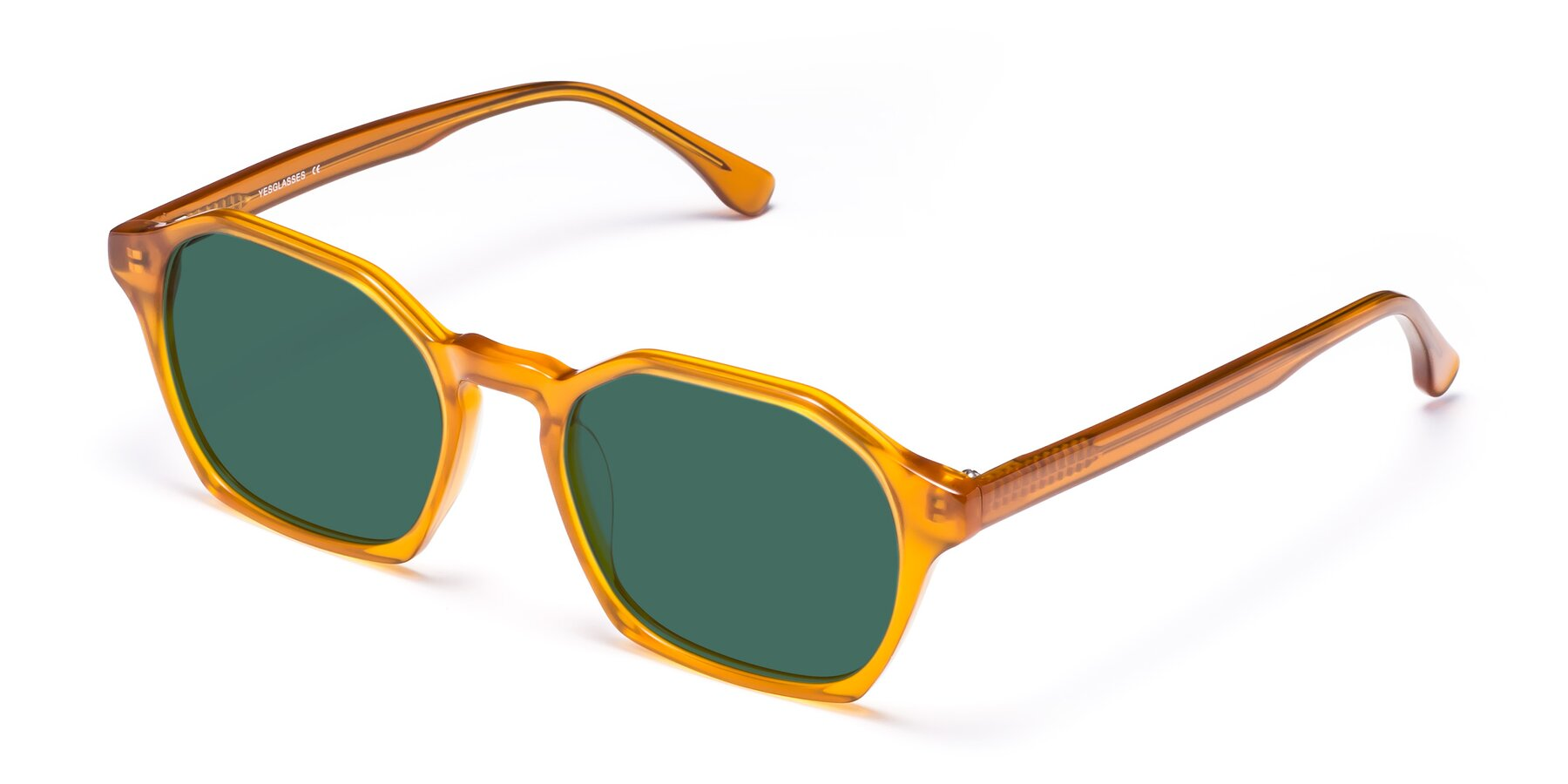 Angle of Stoltz in Brown with Green Polarized Lenses