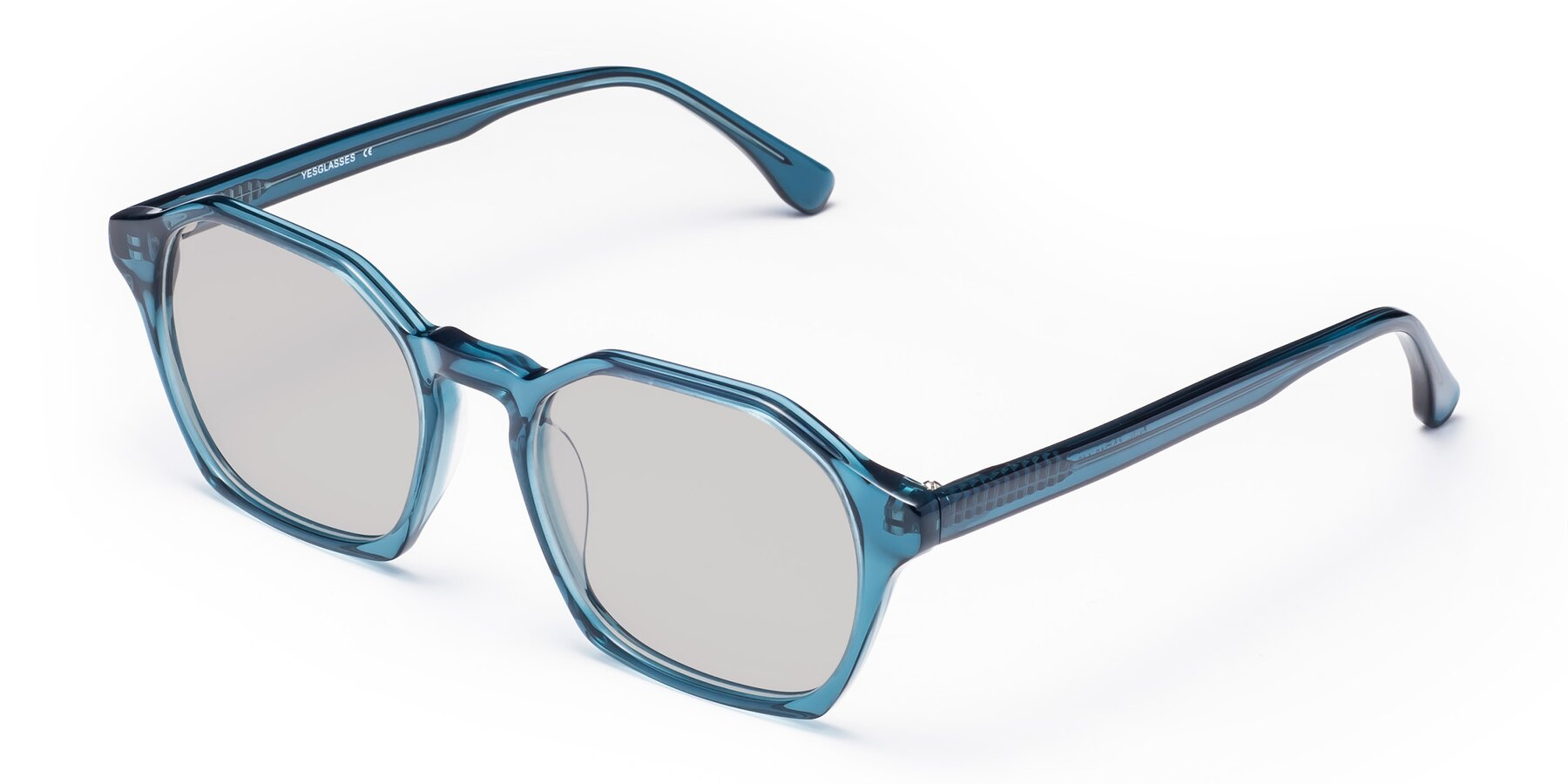 Angle of Stoltz in Ink Blue with Light Gray Tinted Lenses