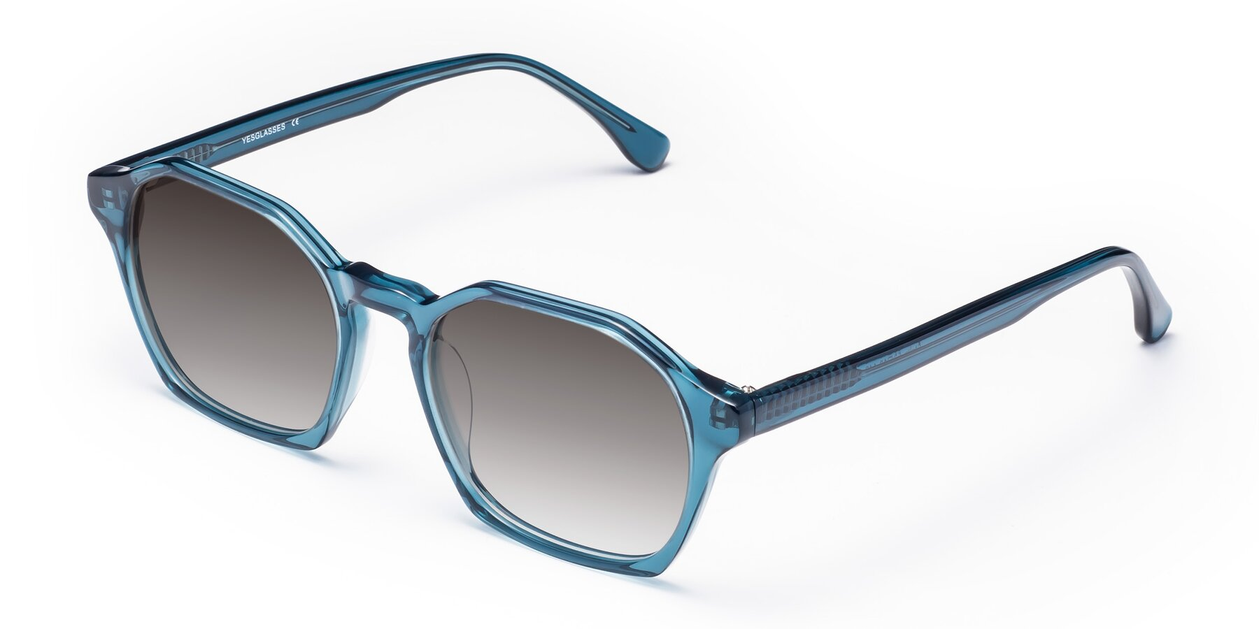 Angle of Stoltz in Ink Blue with Gray Gradient Lenses