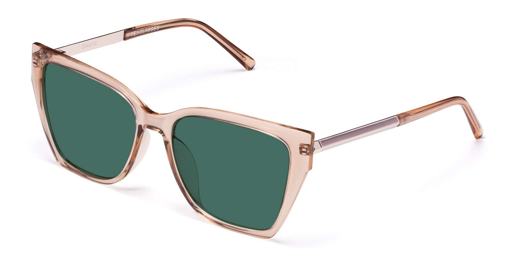 Angle of Swartz in Amber with Green Polarized Lenses