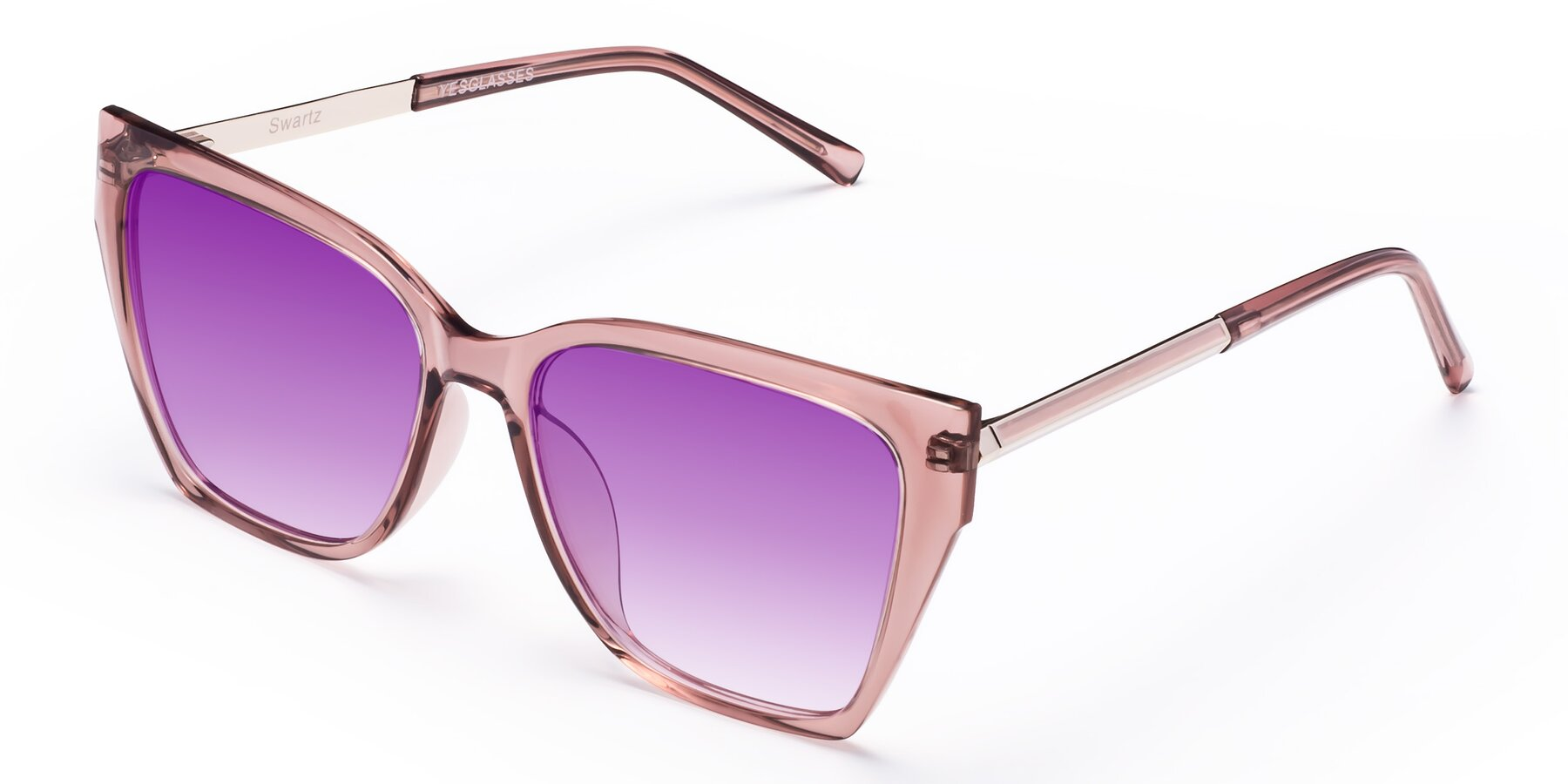 Angle of Swartz in Grape with Purple Gradient Lenses