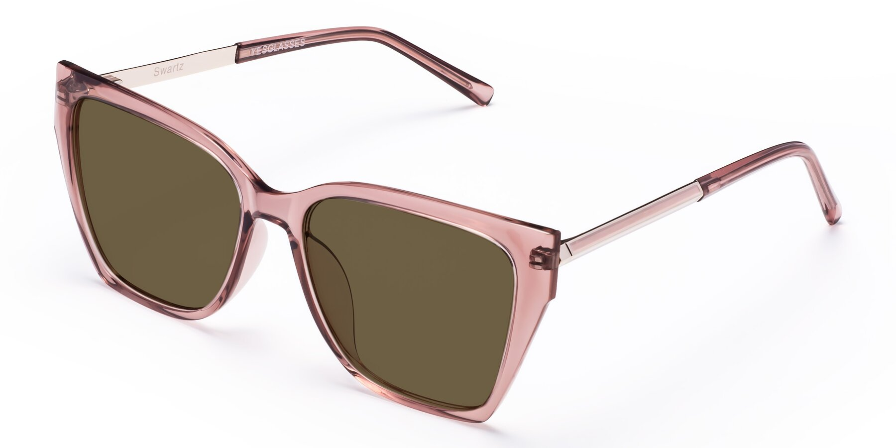 Angle of Swartz in Grape with Brown Polarized Lenses