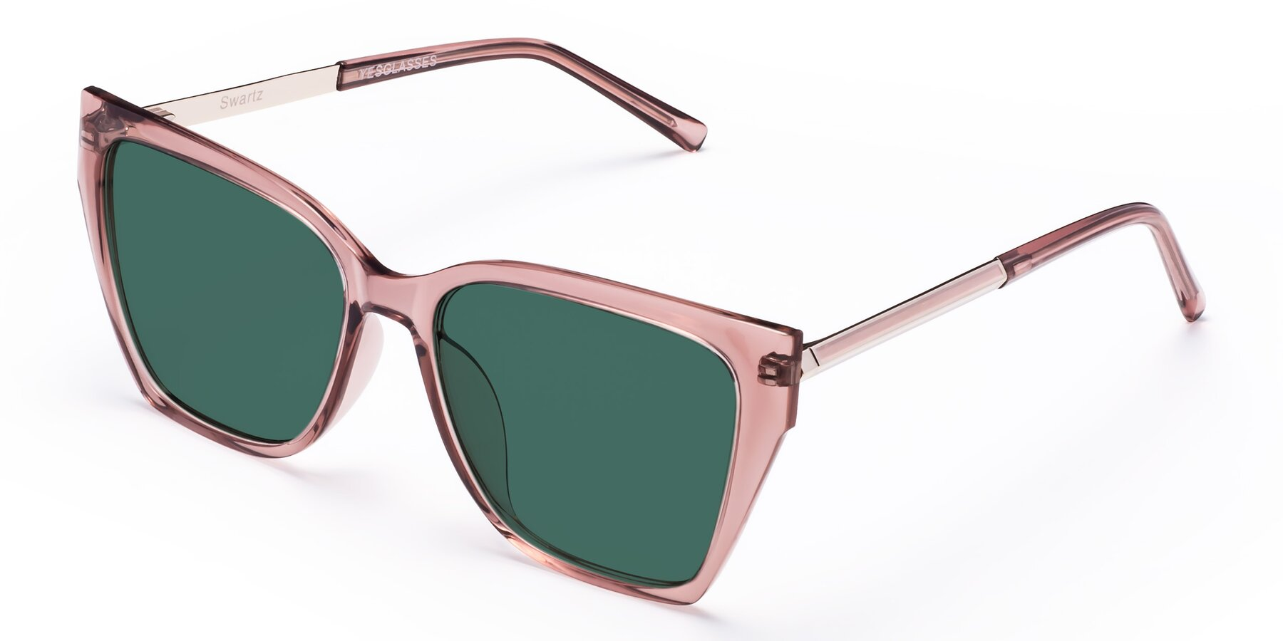 Angle of Swartz in Grape with Green Polarized Lenses