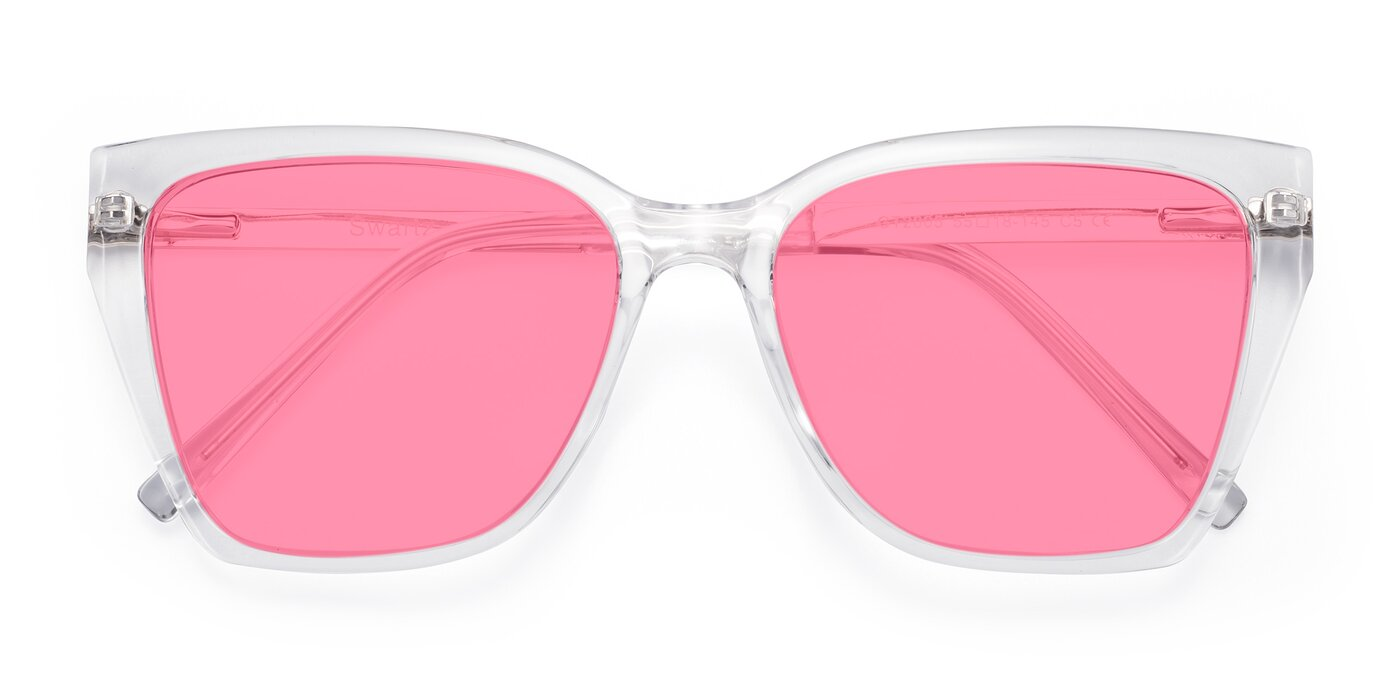Swartz - Clear Tinted Sunglasses