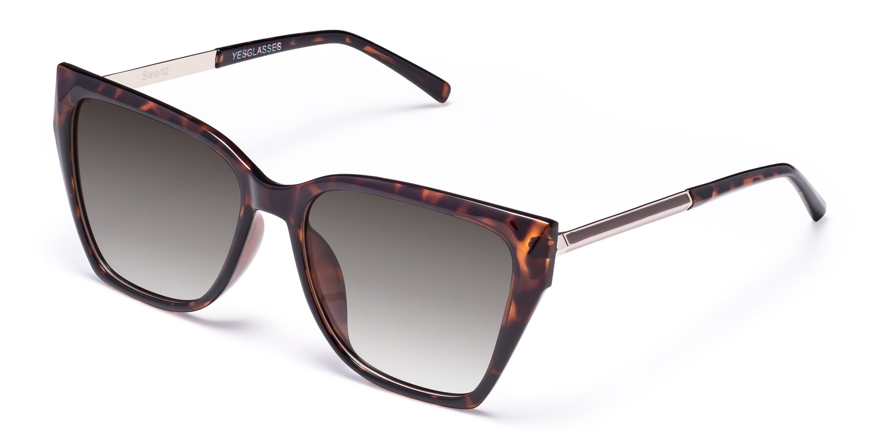 Angle of Swartz in Tortoise with Gray Gradient Lenses