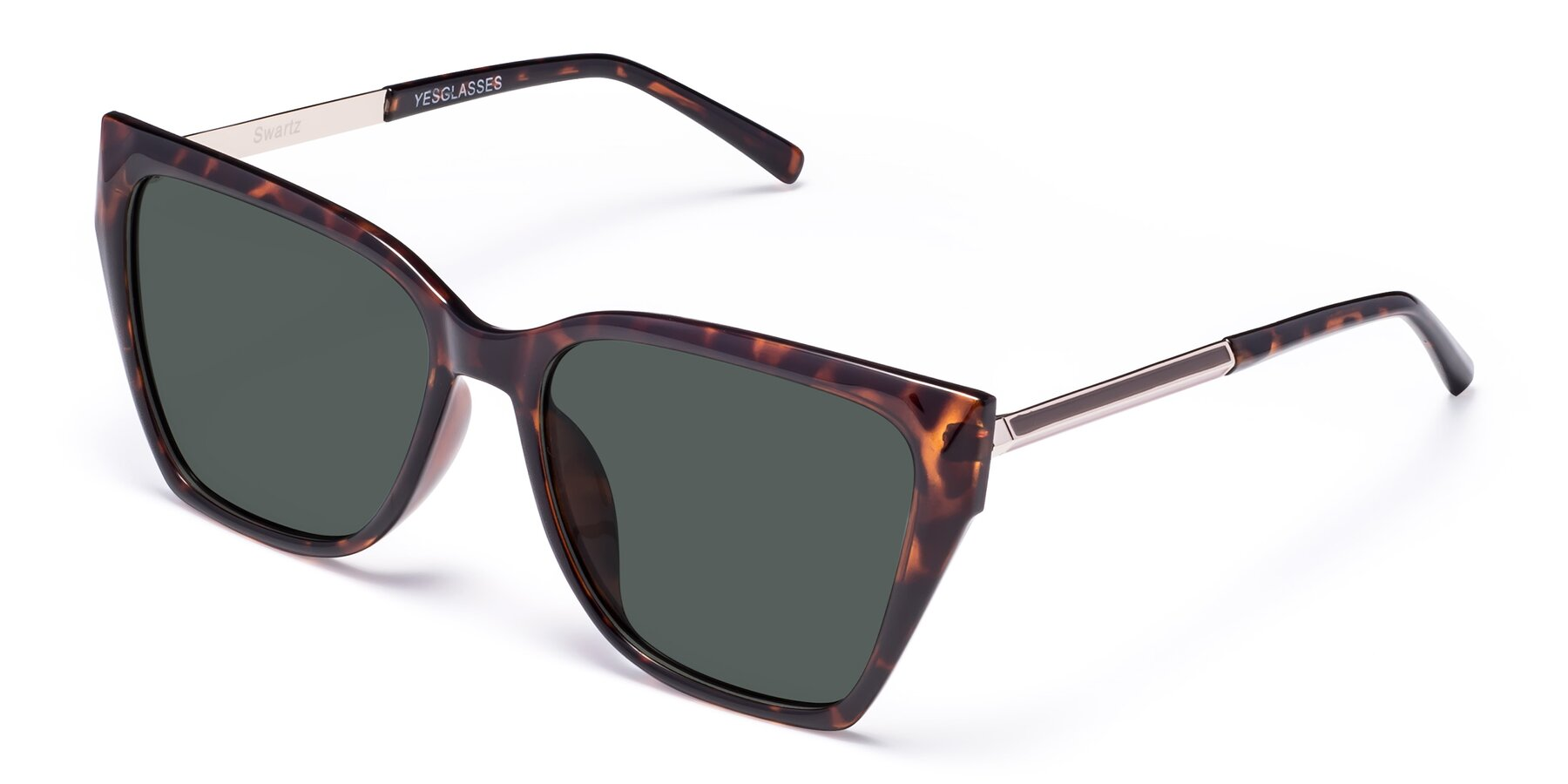 Angle of Swartz in Tortoise with Gray Polarized Lenses