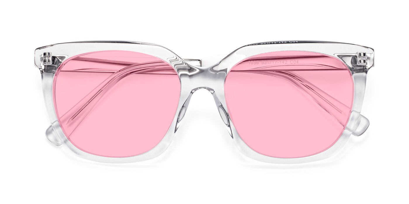 Talent - Clear Tinted Sunglasses