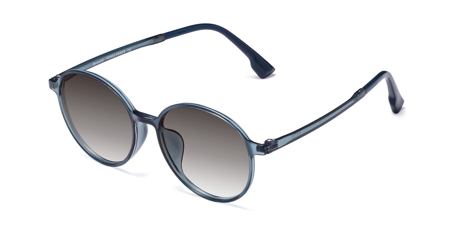Angle of Howard in Deep Sky Blue with Gray Gradient Lenses