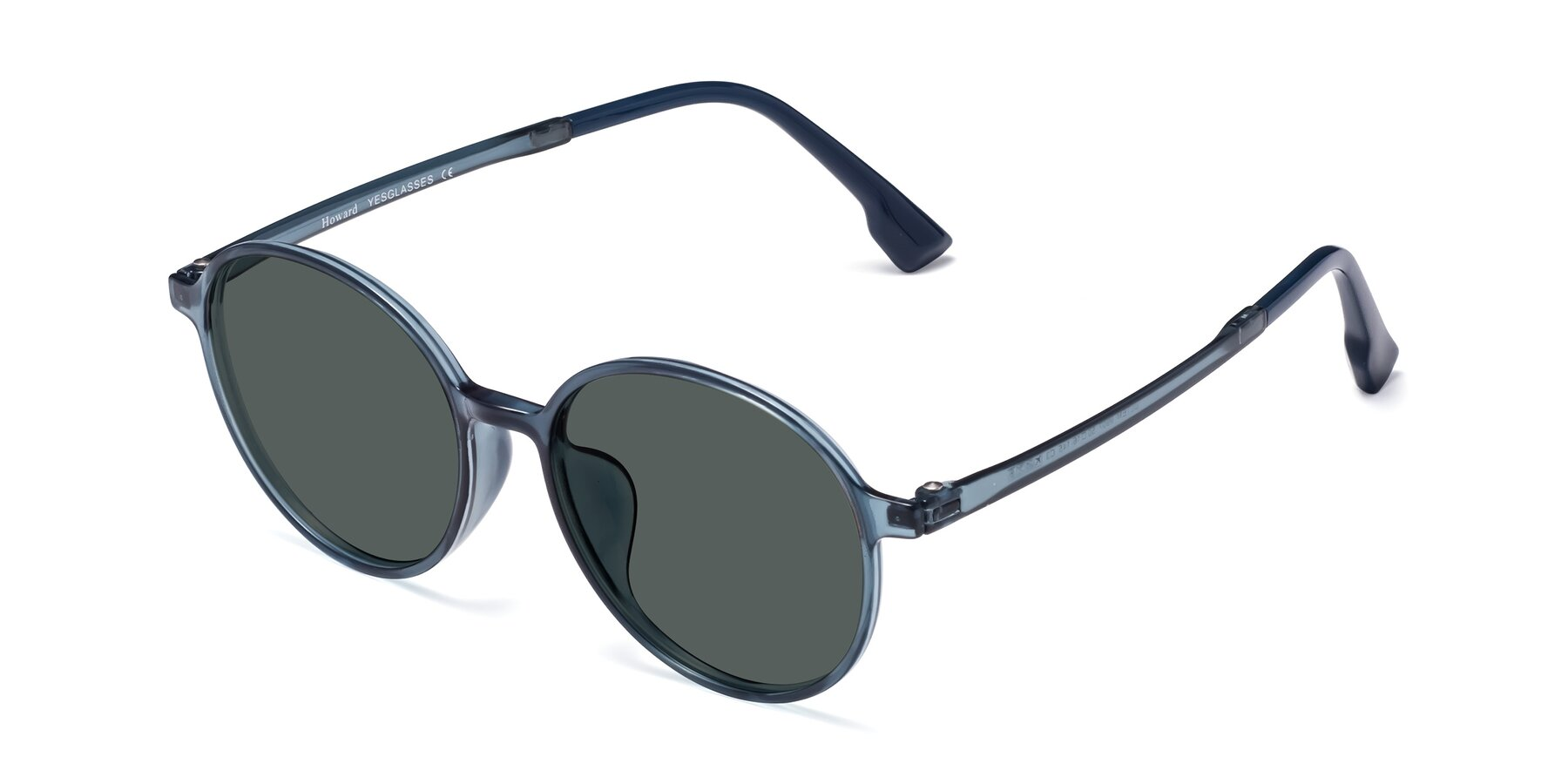 Angle of Howard in Deep Sky Blue with Gray Polarized Lenses