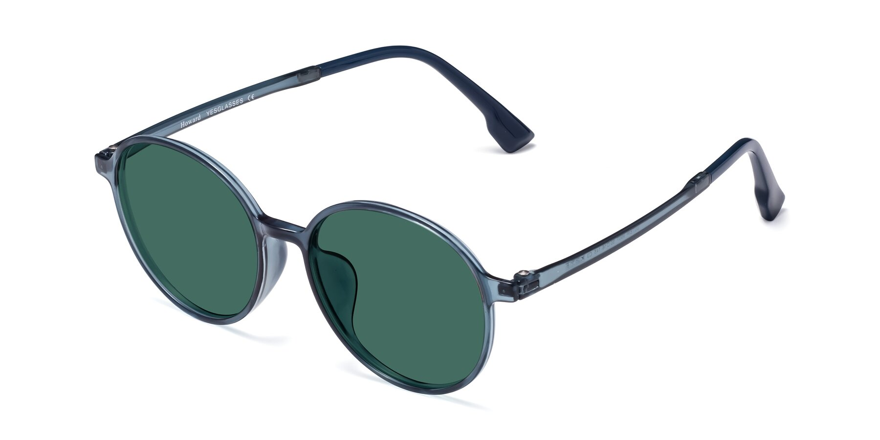 Angle of Howard in Deep Sky Blue with Green Polarized Lenses