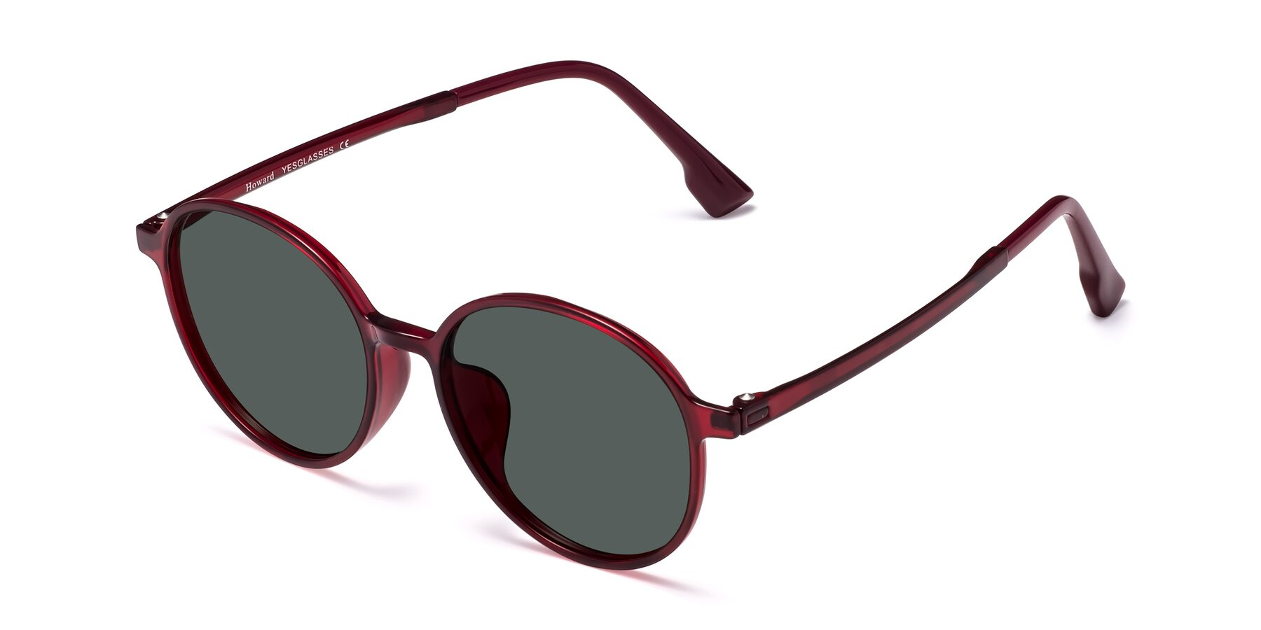 Angle of Howard in Wine with Gray Polarized Lenses