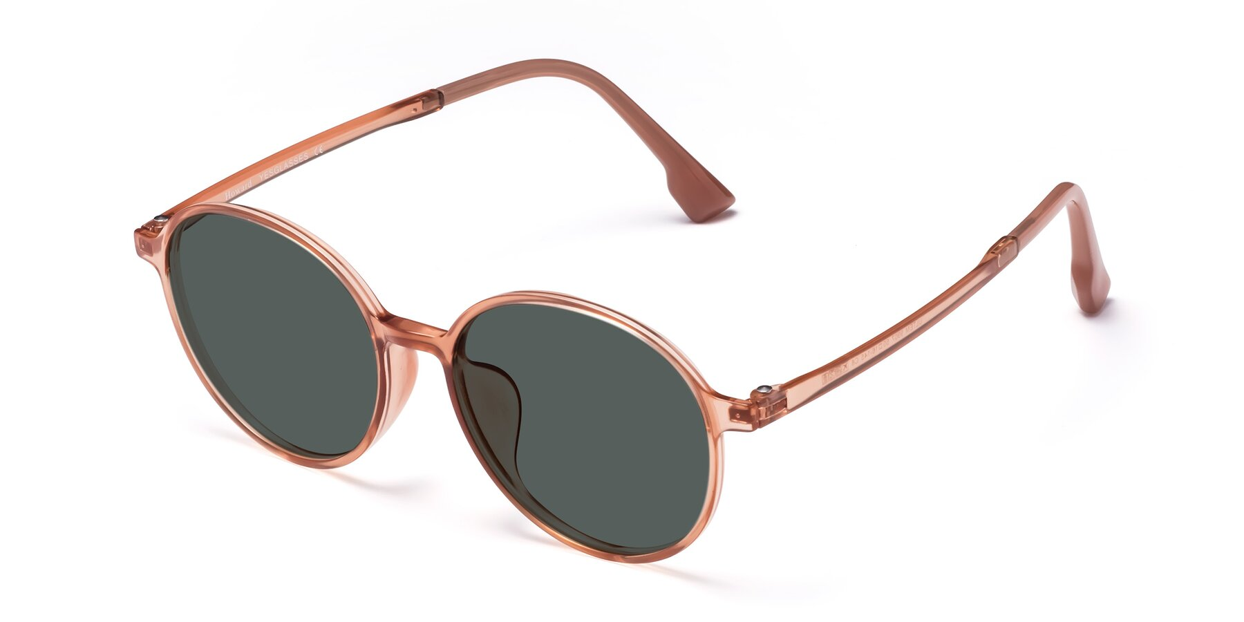 Angle of Howard in Coral with Gray Polarized Lenses
