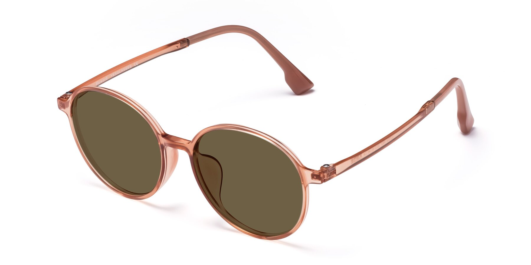 Angle of Howard in Coral with Brown Polarized Lenses