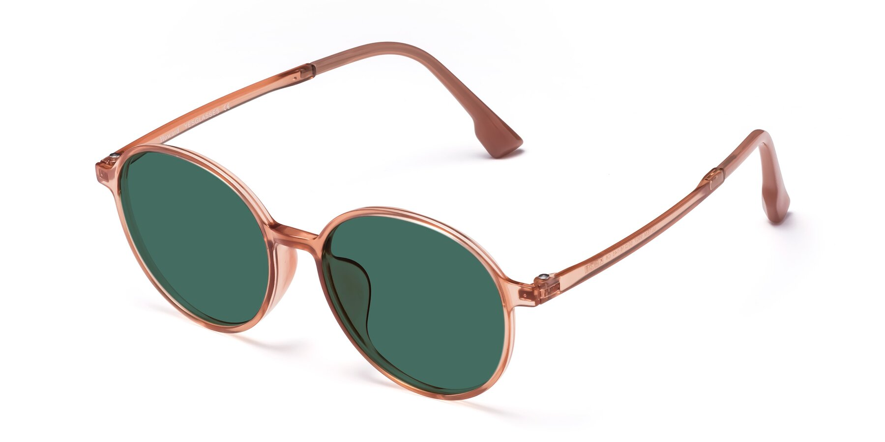 Angle of Howard in Coral with Green Polarized Lenses
