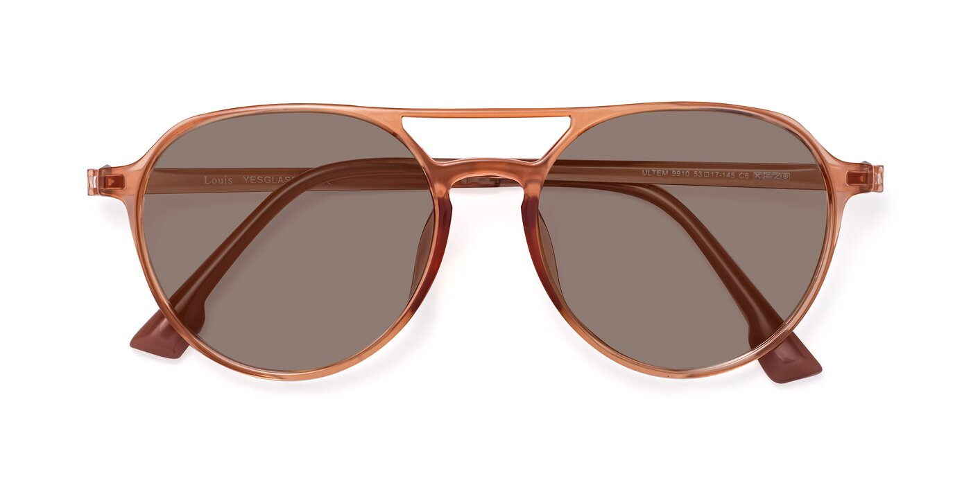 Louis - Coral Tinted Sunglasses