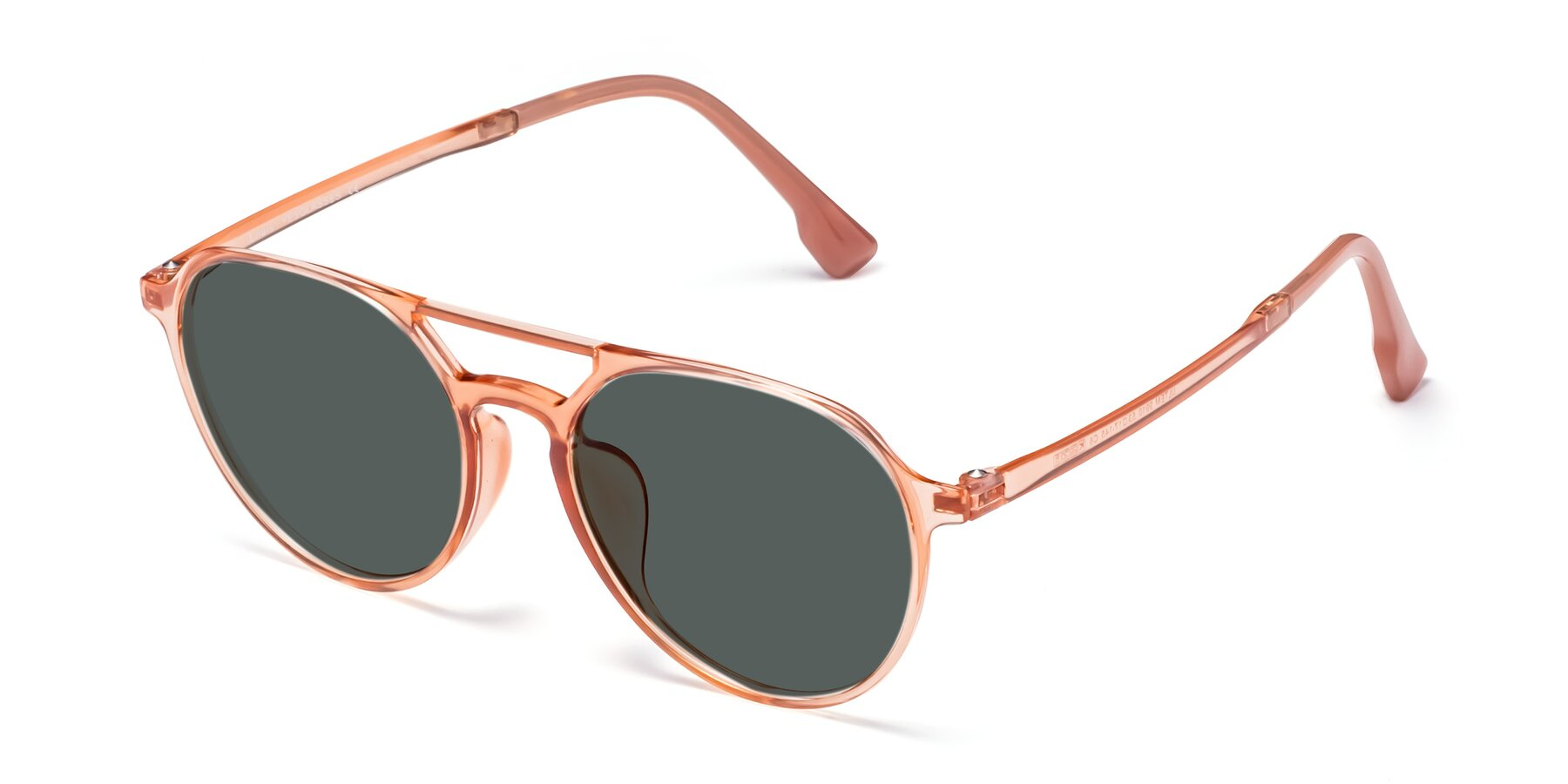 Angle of Louis in Coral with Gray Polarized Lenses