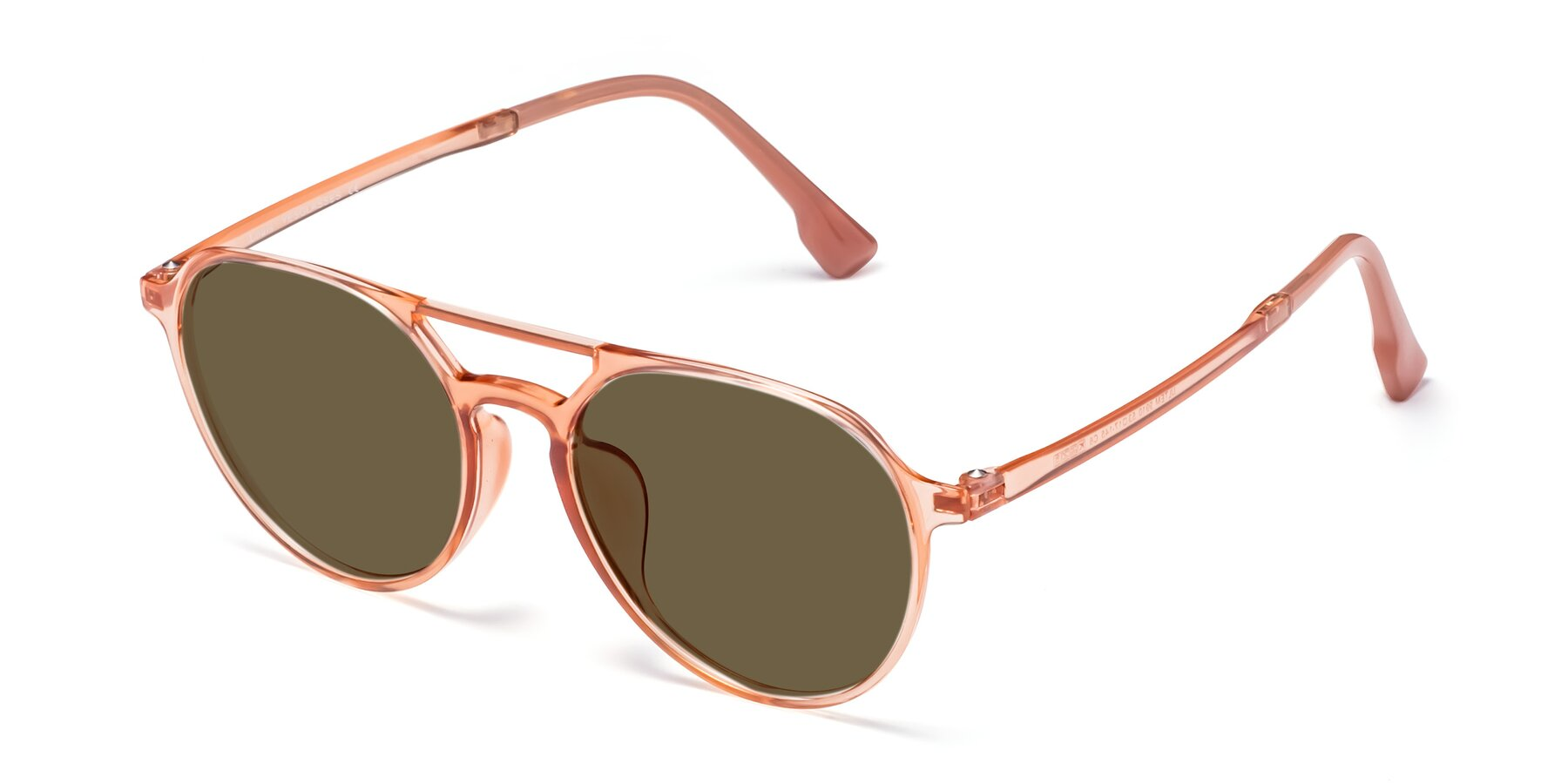 Angle of Louis in Coral with Brown Polarized Lenses