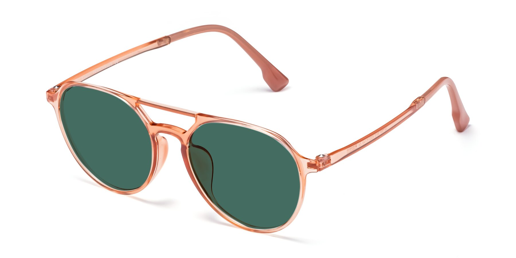 Angle of Louis in Coral with Green Polarized Lenses