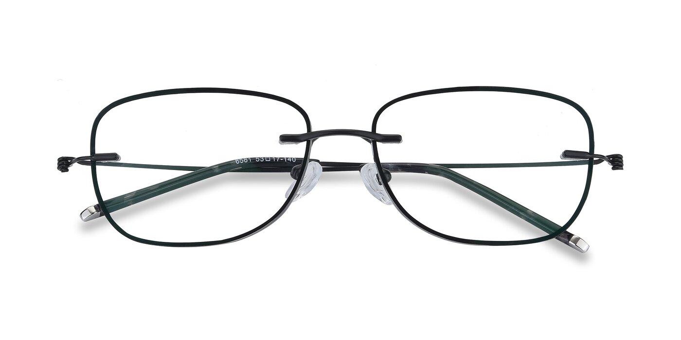 Y7002 - Black / Gunmetal Eyeglasses