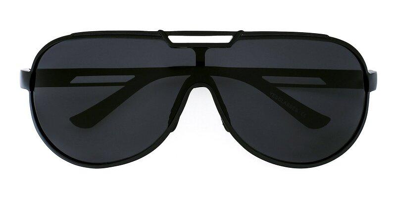 XD303 - Black Polarized Sunglasses