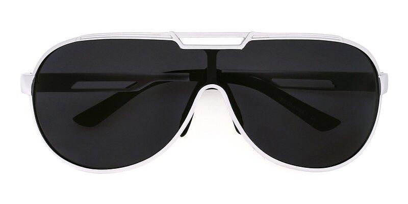 XD303 - Silver Polarized Sunglasses
