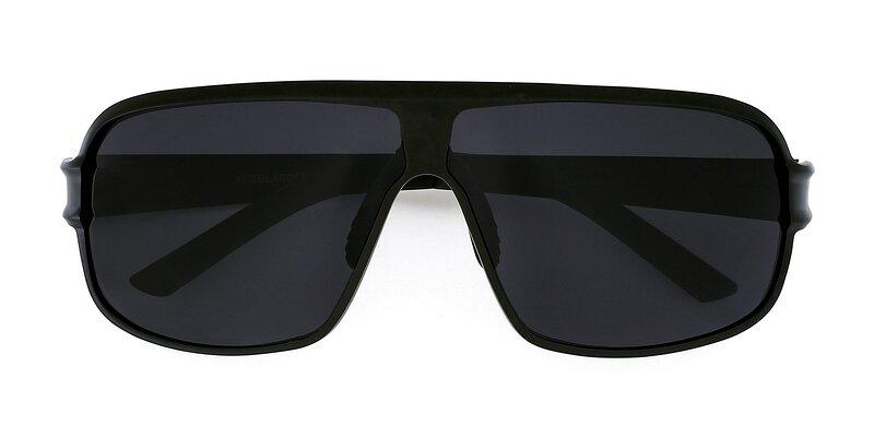 XD354 - Black Polarized Sunglasses