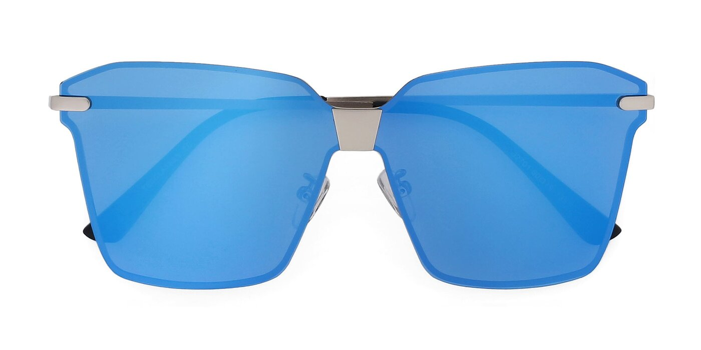 J2701 - Gunmetal Mirrored Polarized Sunglasses