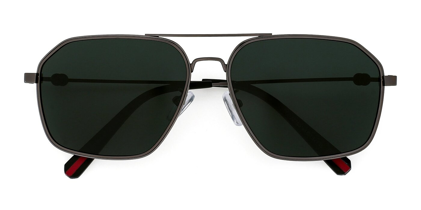 J2703 - Gunmetal Polarized Sunglasses