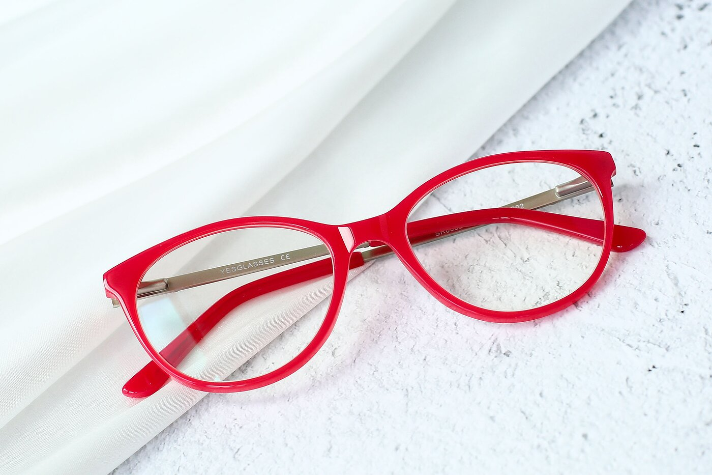 Rose Hipster Acetate Cat-Eye Eyeglasses
