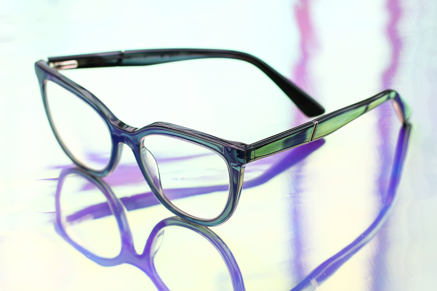 Lifestyle photography #2 of 17287 in Translucent Gray with Clear Eyeglass Lenses