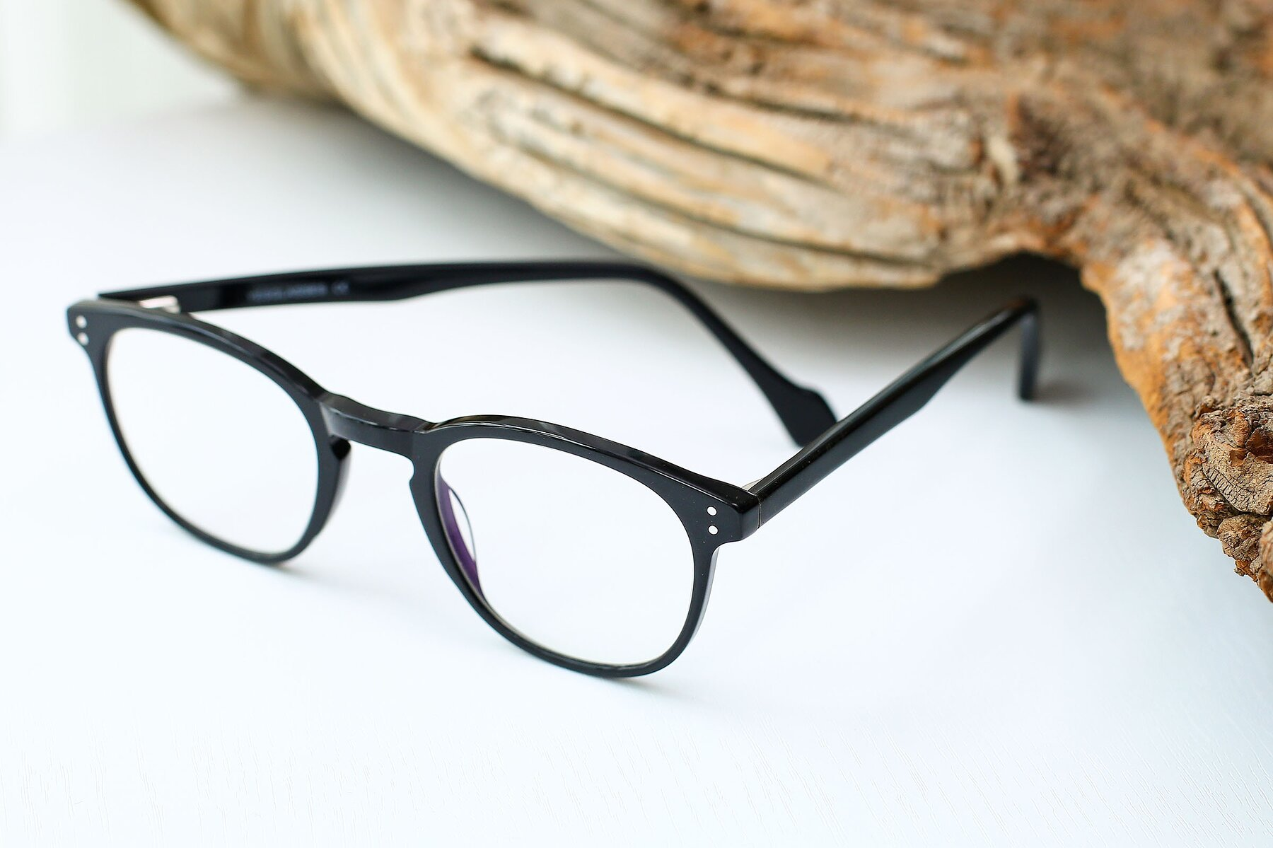 Lifestyle photography #2 of 17293 in Black with Clear Blue Light Blocking Lenses