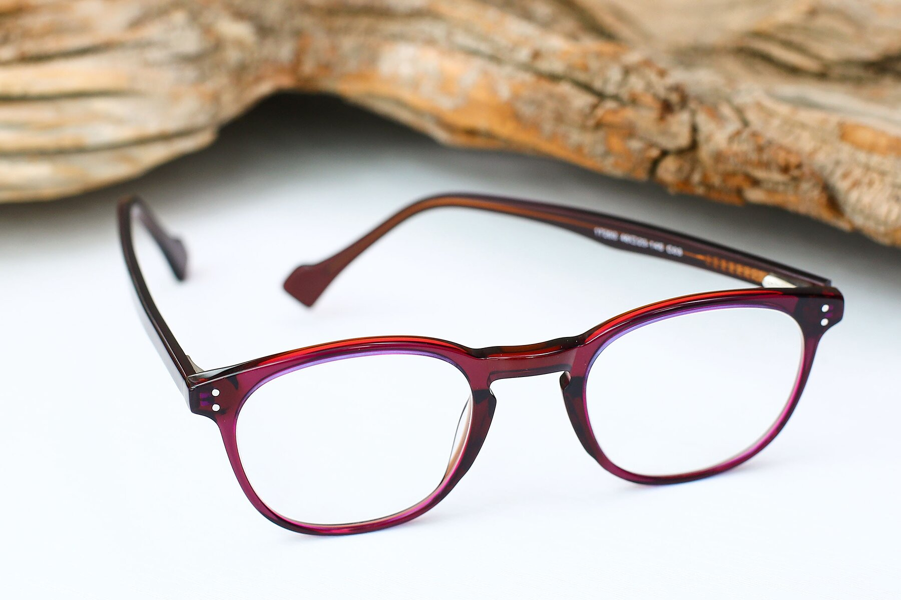Women's lifestyle photography #2 of 17293 in Violet with Clear Eyeglass Lenses