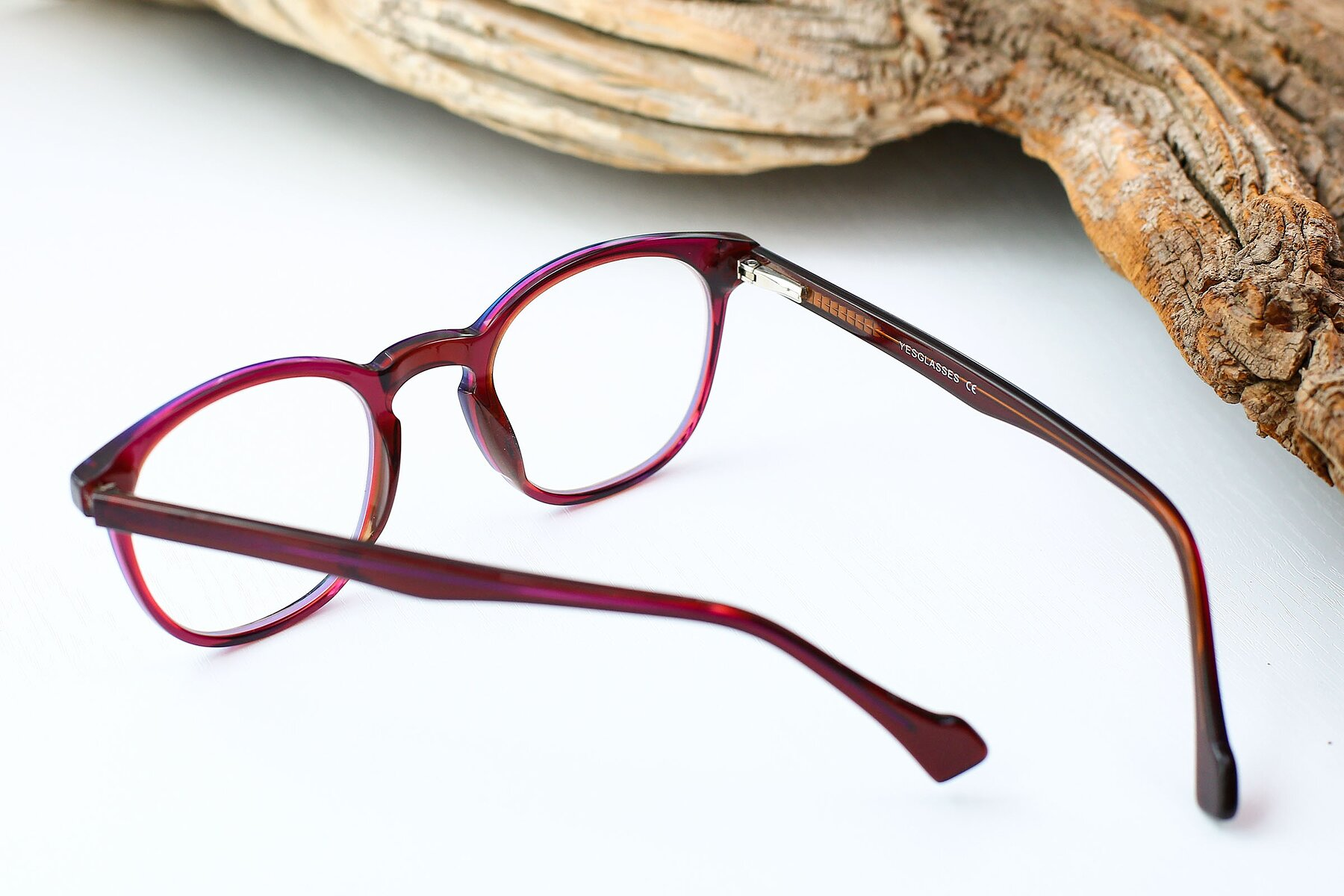 Women's lifestyle photography #3 of 17293 in Violet with Clear Eyeglass Lenses