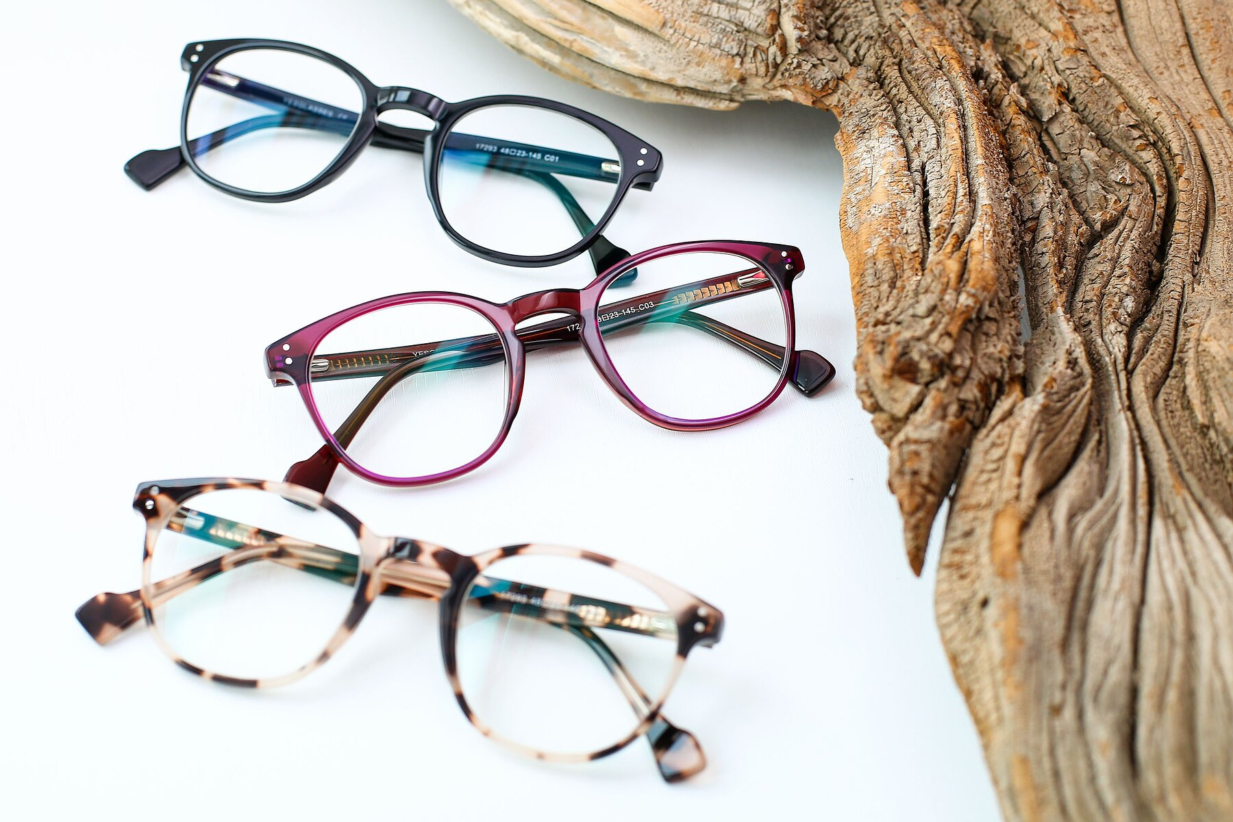 Women's lifestyle photography #4 of 17293 in Violet with Clear Eyeglass Lenses