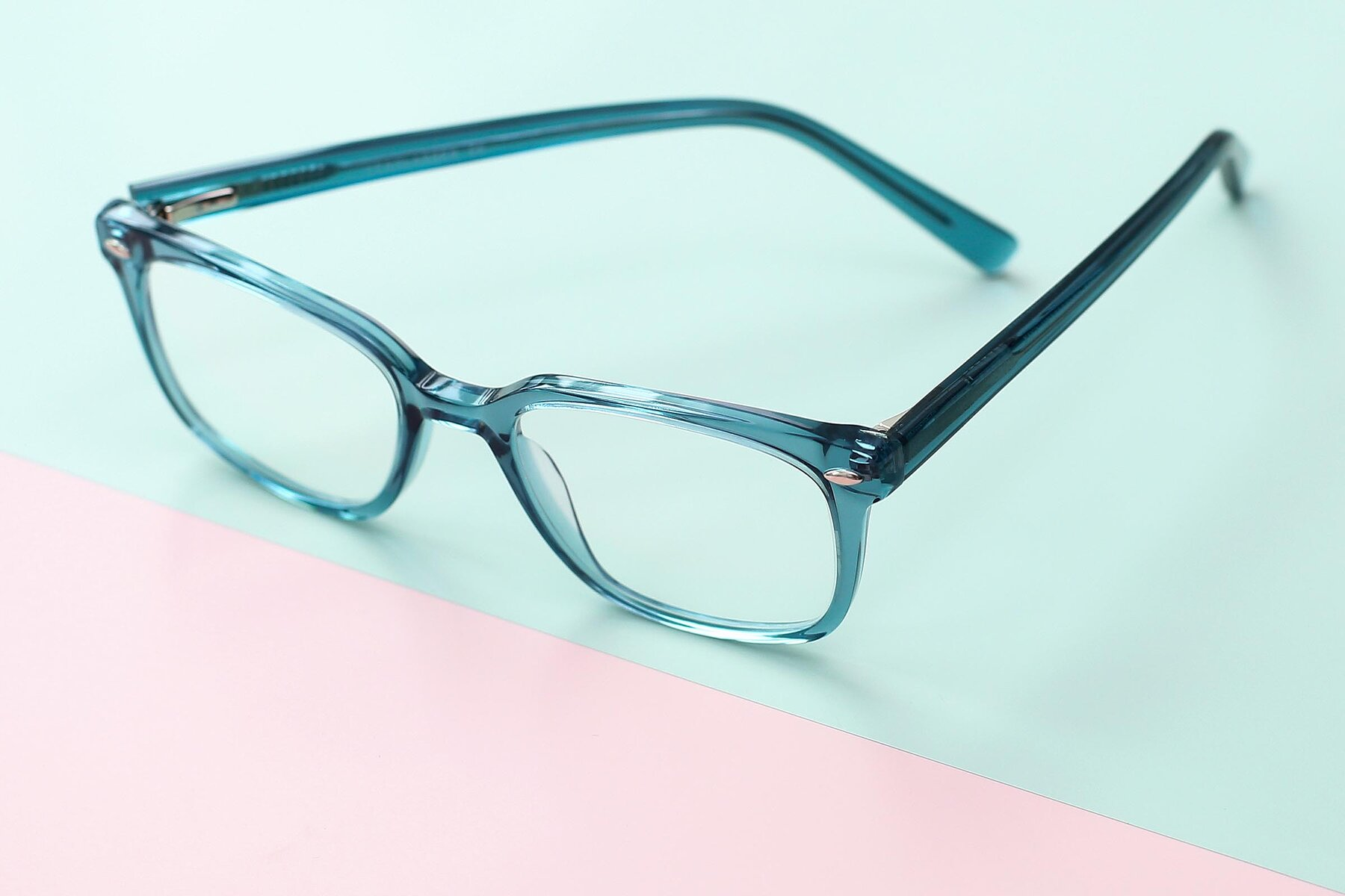 Lifestyle photography #2 of 17349 in Transparent Cyan with Clear Blue Light Blocking Lenses