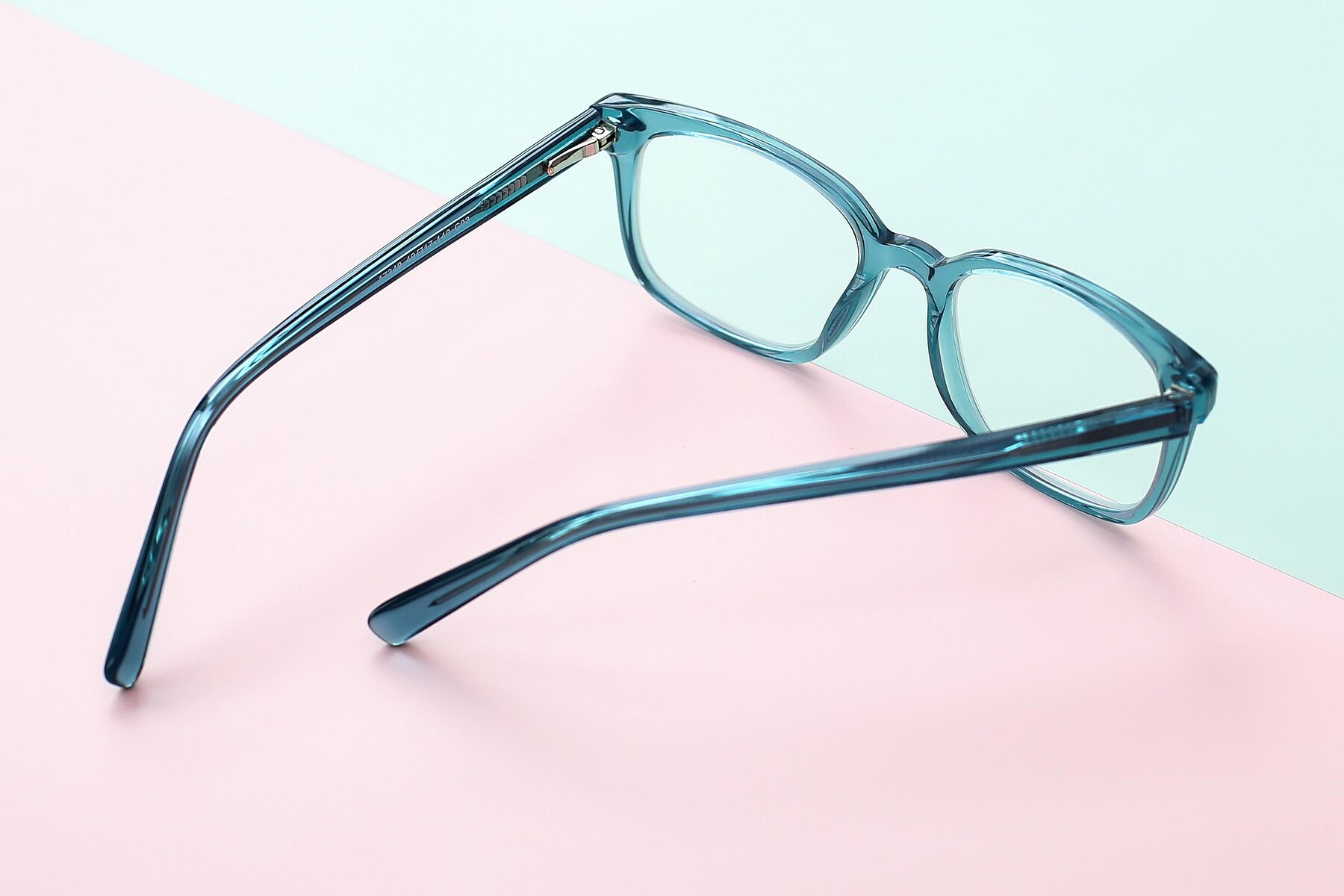 Lifestyle photography #3 of 17349 in Transparent Cyan with Clear Blue Light Blocking Lenses