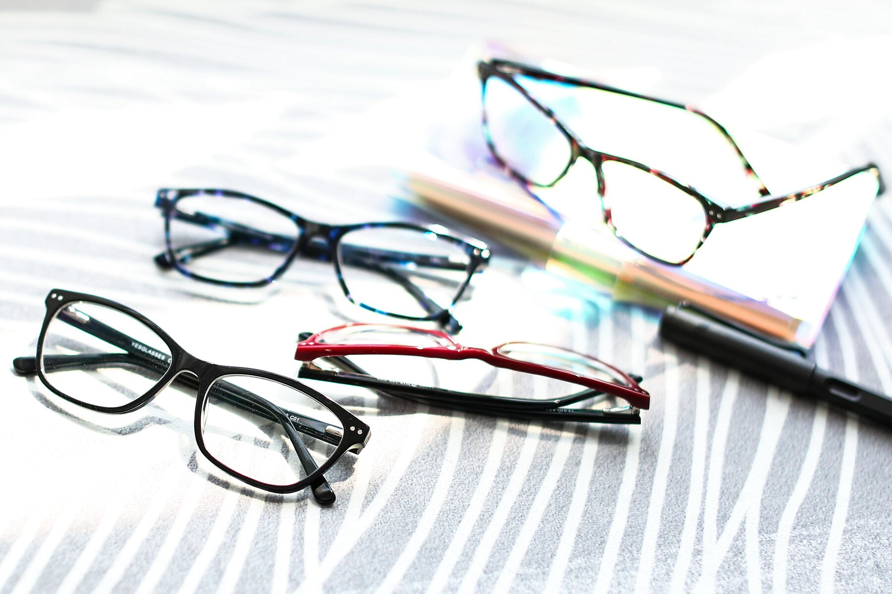 Lifestyle photography #4 of 17350 in Black with Clear Eyeglass Lenses