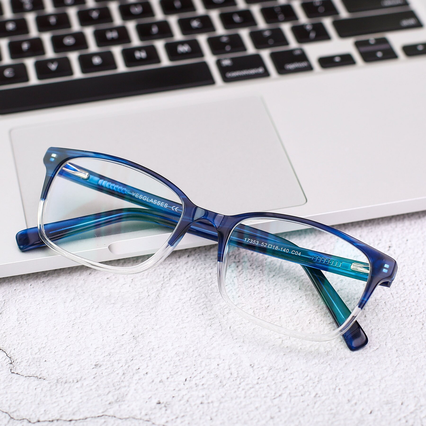 Men's lifestyle photography #1 of 17353 in Blue-Clear with Clear Eyeglass Lenses