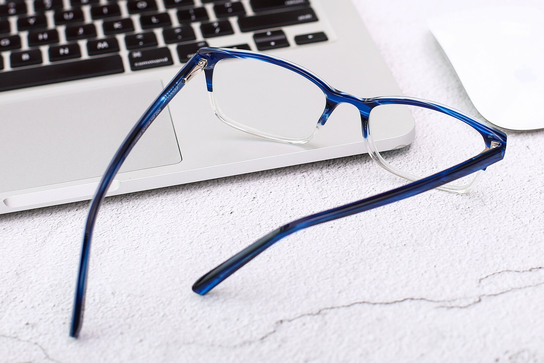 Men's lifestyle photography #3 of 17353 in Blue-Clear with Clear Eyeglass Lenses