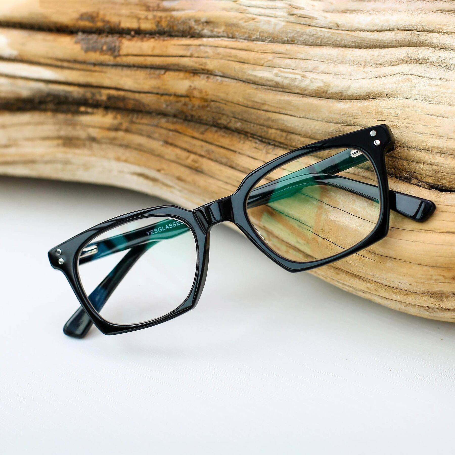 Lifestyle photography #1 of 17355 in Black with Clear Eyeglass Lenses