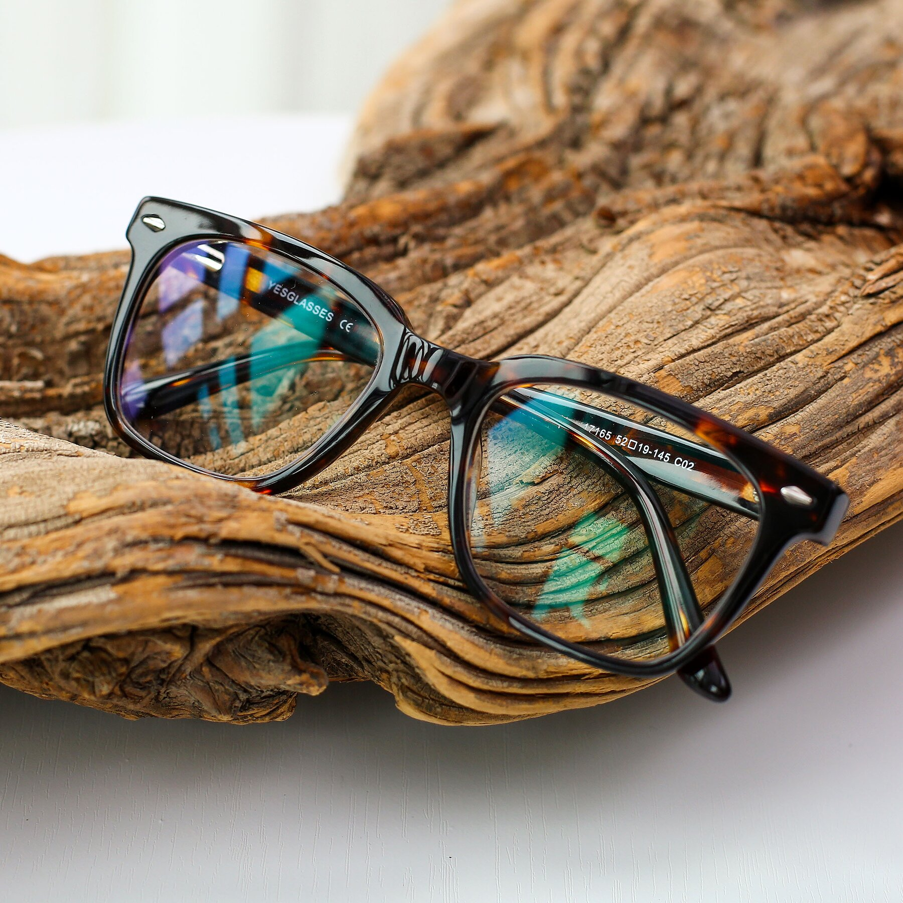 Men's lifestyle photography #1 of 17165 in Tortoise with Clear Blue Light Blocking Lenses